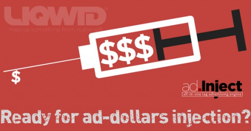LIQWID® Launches ad.Inject, the All-in-One Tag Monetization Solution for Digital Publishers Making All Ads Viewable